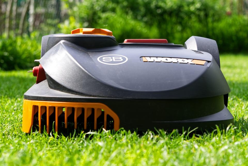 jardin robot tondeuse